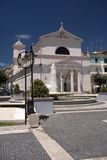 Church in Nettuno. Church in the main square of Nettuno, Italy stock images