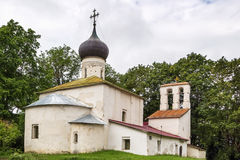 Church New Ascension in Pskov Stock Photography