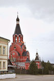 Church of New Martyrs and Confessors Russian in Rzhev. Russia Royalty Free Stock Photos