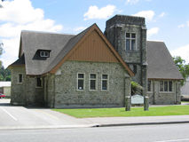 Church in New Zealand Stock Photos