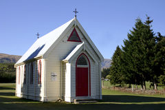 Church in New Zealand Royalty Free Stock Photo