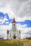 Church. A newly built catholic church in the Minsk outskirts royalty free stock images