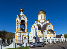 Church of Nicholas and Alexandra, Royal Passion bearer. Kursk. R Royalty Free Stock Image
