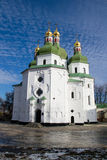 Church. Nicholas Cathedral in the city of Nezhin, Ukraine Royalty Free Stock Image
