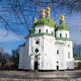 Church. Nicholas Cathedral in the city of Nezhin, Ukraine Royalty Free Stock Photos