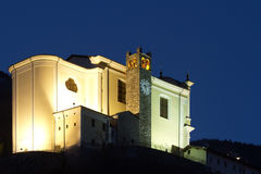 Church in the night Royalty Free Stock Image