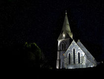 Church at night Stock Image
