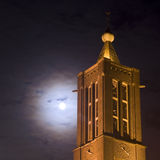 Church by night. A church by night in Venlo, The Netherlands Stock Photography