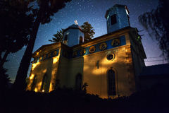 Church at night Royalty Free Stock Image