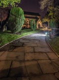 Church at night Royalty Free Stock Images