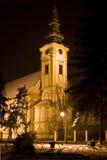Church by night Royalty Free Stock Photos