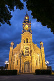 Church at night Royalty Free Stock Photography