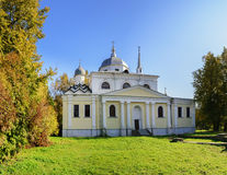 The Church of Nikita the Martyr. The Ancient  Church of Nikita the Martyr in Veliky Novgorod Royalty Free Stock Photo