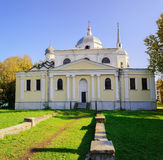 The Church of Nikita the Martyr. The Ancient  Church of Nikita the Martyr in Veliky Novgorod Stock Photography