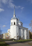 The Church of Nikita the Martyr. Veliky Novgorod Royalty Free Stock Images