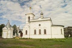 Church Nikolaya Miracle worker in village Mstyora Royalty Free Stock Photography