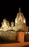 Church Nikoly. Church Nikoly, it is photographed at night in Russia Stock Photography
