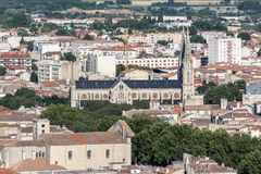 Church Nimes France Stock Image