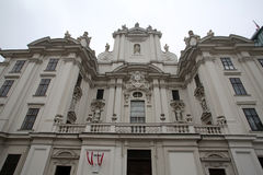 Church of the nine choirs of angels in Vienna Stock Image
