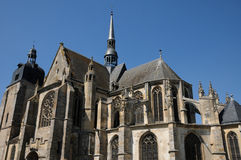 The church of Nogent le Roi in Eure et Loir Stock Photography