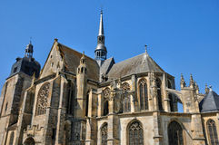 Church of Nogent le Roi in Eure et Loir Stock Photography
