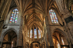 Church of Nogent le Roi in Eure et Loir Stock Images