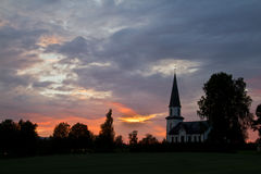 Church of Nord Odal, Norway Royalty Free Stock Photo