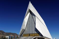 Church in North Air Force Academy Royalty Free Stock Photography