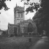 Church in Northampton. Construction design architecture religion Stock Images