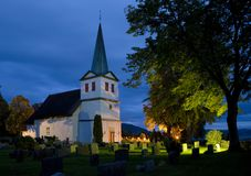 Church, Norway Royalty Free Stock Images