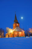 Church in Norway Stock Photography