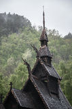Old wood church in Norway Stock Photography