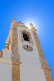 Church Nossa Senhora da Conceicao in Portimao. Tower of church Nossa Senhora da Conceicao in Portimao in Portugal Royalty Free Stock Photography