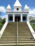 Church of Nossa Senhora da Penha - Paraty- Paraty- Cunha. It is a church situated on a Big stone Stock Image
