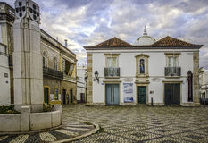 Church of Nossa Senhora da Soledade (museum entry). Built in the Baroque and Roccoco styles, the church was once the parochial church, but is primarily used as Royalty Free Stock Photography