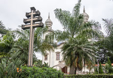Church Nossa Senhora do Brasil Stock Photography