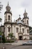 Church Nossa Senhora do Brasil Sao Paulo Royalty Free Stock Photo