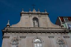 The Church of Nossa Senhora do Loreto Our Lady of Loreto - Igreja do Loreto. Lisbon, Portugal Royalty Free Stock Image