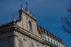 The Church of Nossa Senhora do Loreto Our Lady of Loreto - Igreja do Loreto. Lisbon, Portugal Stock Photography