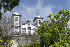 Church of Nossa Senhora do Monte, Madeira Royalty Free Stock Images