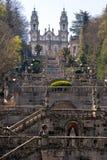 The Church of Nossa Senhora dos Remedios. royalty free stock image