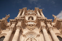 Church in Noto Stock Image