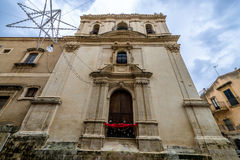 Church in Noto Stock Photo
