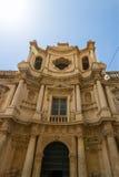 Church in Noto, Sicily, Italy Royalty Free Stock Photos