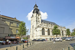 Church Notre-Dame de la Chapelle Royalty Free Stock Photos