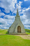 Church Notre Dame de la Garde chapel. Etretat, Normandy, France. Royalty Free Stock Photography