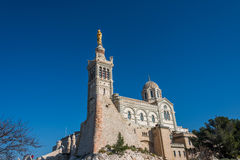 Church of Notre Dame de la Garde, Marseille, France Stock Photography