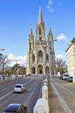 Church Notre-Dame de Laeken in Brussels. Stock Images