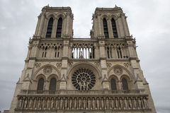 Church Notre Dame de Paris Stock Images
