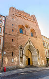 Church of Notre Dame de Taur in Toulouse Royalty Free Stock Photography